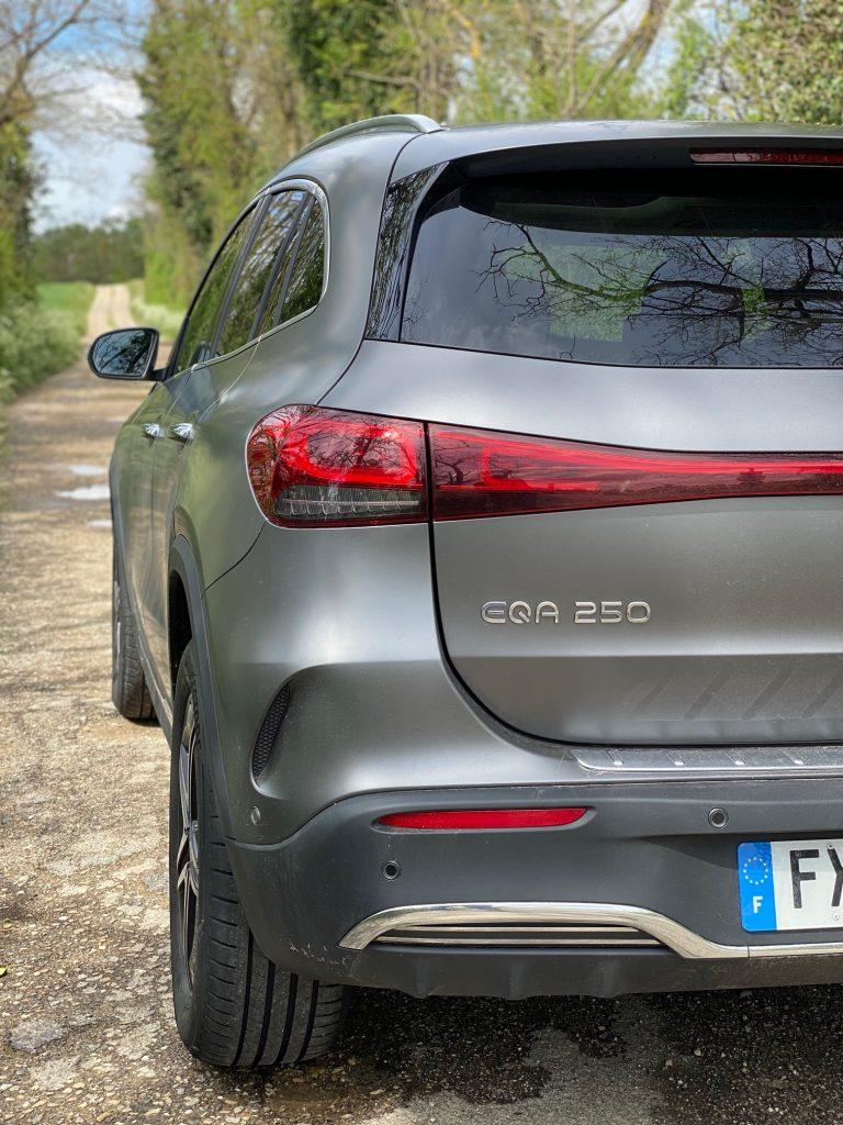 Mercedes EQA, Mercedes, EQA, SUV, SUV compact, SUV electrique,