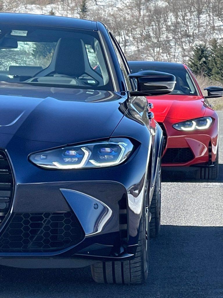 BMW, M3 competition, BMW M3, circuit, BMW M, voiture de sport, berline, BMW M4 competition