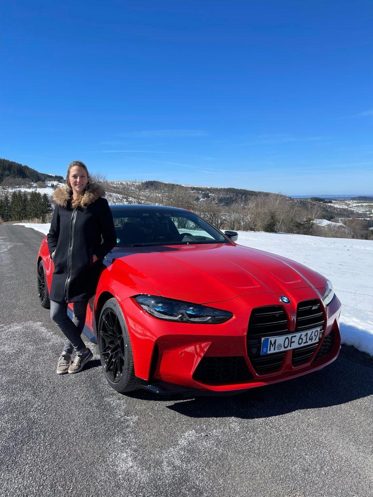 BMW, M4 competition, BMW M4, circuit, BMW M, voiture de sport, berline, clemence de bernis