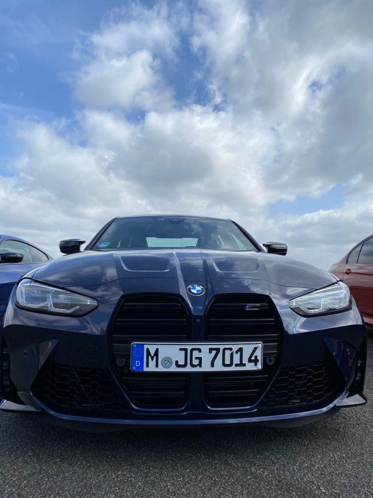 BMW M4 competition, M4 competition, bmw m', voiture de sport, circuit