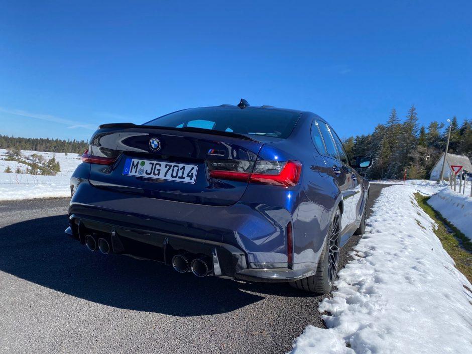 BMW, M3 competition, BMW M3, circuit, BMW M, voiture de sport, berline