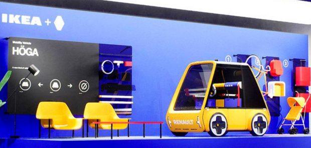Renault Hoga, citadine, concept-car, voiture electrique, ikea, voiture en kit