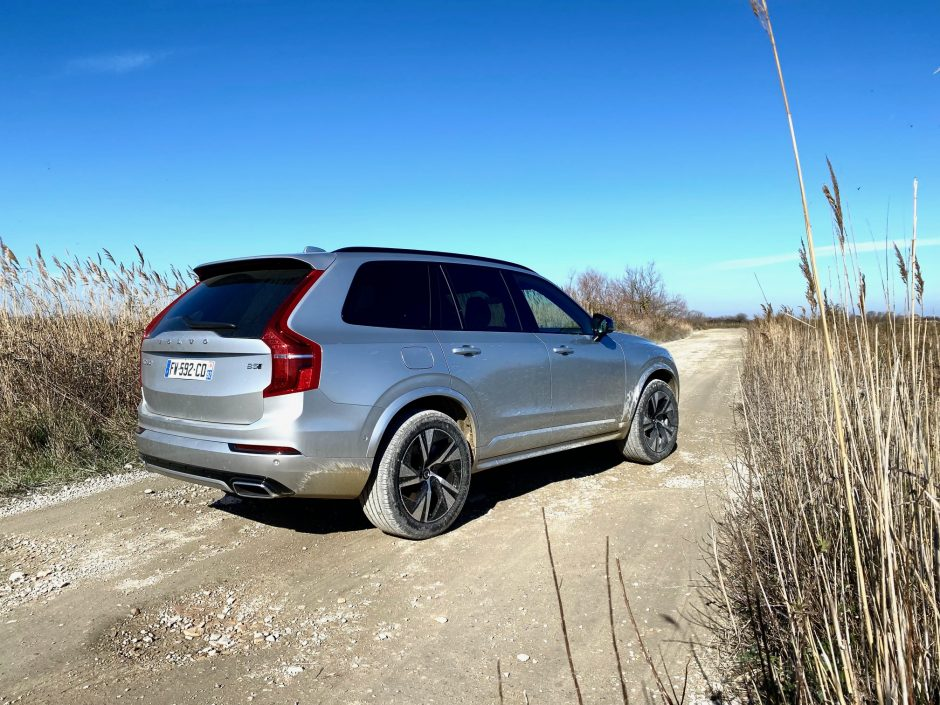 volvo, Volvo XC90, XC90, suv, SUV familial, voiture familial, voiture 7 places, face arriere